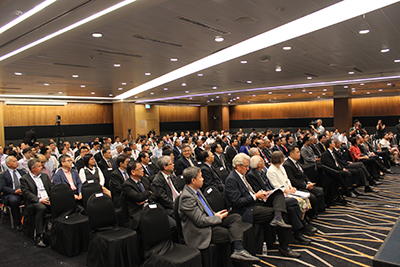 WES-CUE2017 Delegates at the opening ceremony on 18 July 2017.