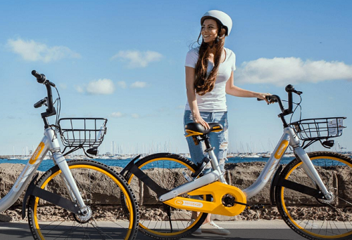 Singapore based oBike has expanded to several Australian cities, but has faced some vandalism issues. Courtesy of oBike.