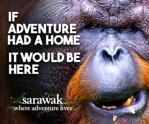 Visit Sarawak, Borneo's wildest territory