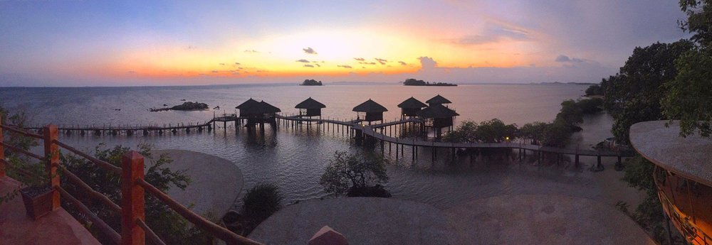Beautiful spot in Bintan as seen from the Eco Luxury Chalet at LooLa Adventure Resort.
