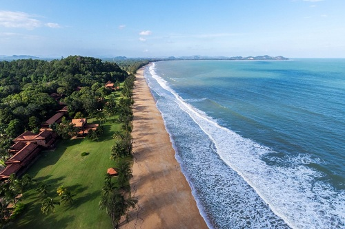 Cherating Beach is one of the world's most important nesting grounds for endangered Leatherback and Green turtles. Courtesy Club Med.