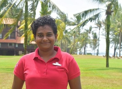 Unetha Balachandran is the first Green GO and educator at Cherating, Courtesy Club Med.