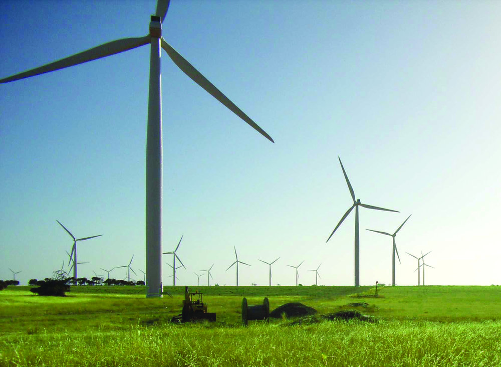 Macarthur Wind Farm – the largest in the Southern Hemisphere, cost AGL and other investors $1 billion and will power 220,000 Victorian homes.   Image courtesy AGL