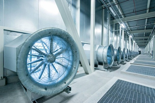 Lots of data centers consume extra energy just to disperse generated heat. Courtesy Facebook.