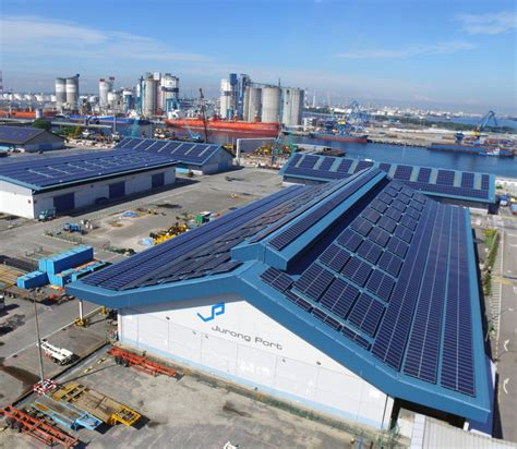 Sunseap's rooftop solar installations will power Singapore homes in Jurong. Courtesy Sunseap.