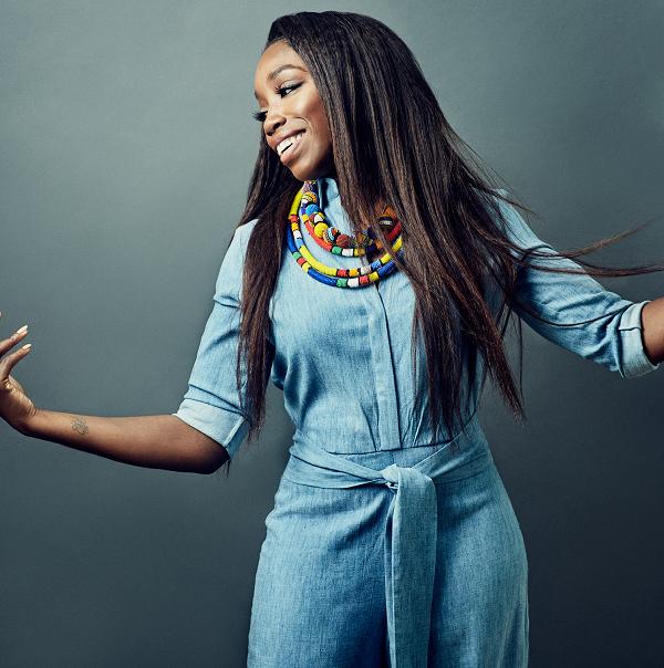 Grammy Award winner Estelle performs at Sing Jazz 2018