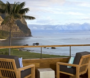 Capella's claims its views are some of the best on the island. Courtesy Capella.