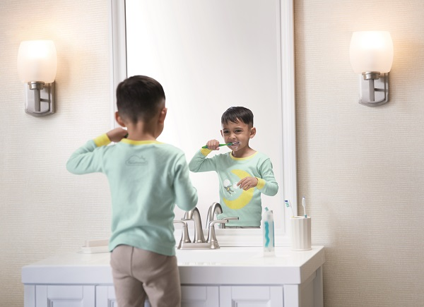Sleep routine involving wearing comfy pajamas and brushing teeth promote good health. Photo courtesy Westin.