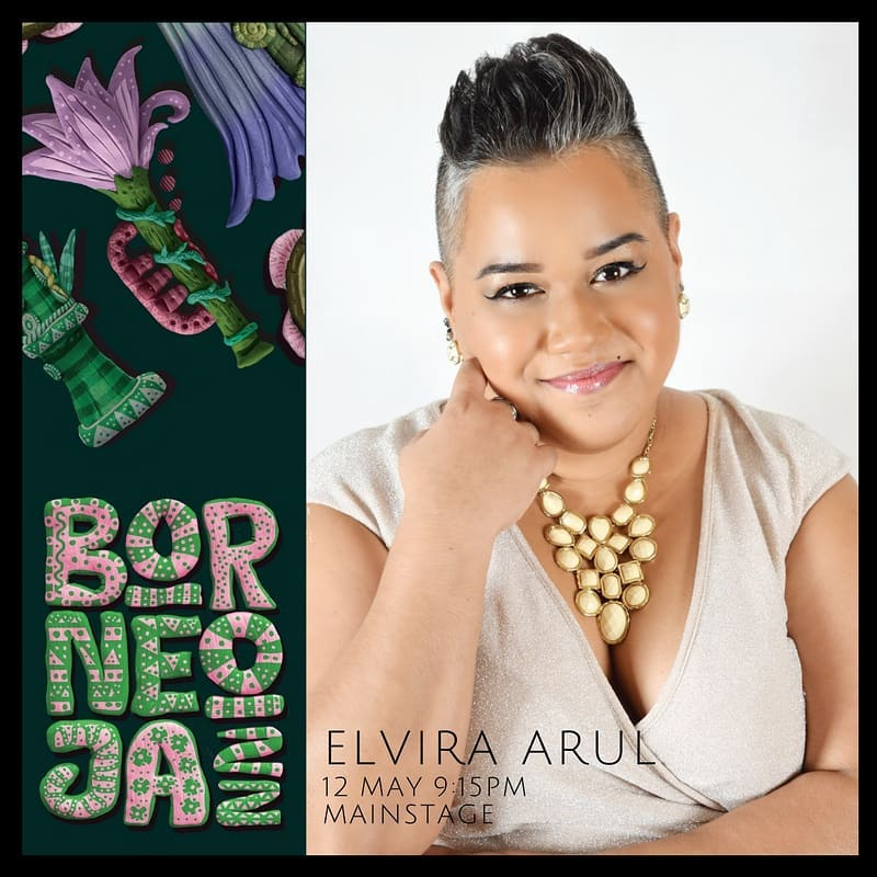 Elvira Arul at Borneo Jazz 2018