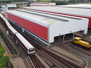 Singapore's SMRT will increase it's solar installations as its expertise grows. Courtesy SMRT.