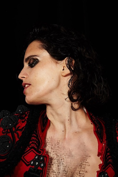 Anna Calvi learned music on the violin but has moved on since those orchestra days. Courtesy Pohoda.