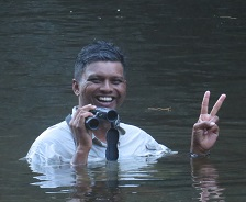 No water is too deep for Andrew Sebastian of ECOMY in overcoming ecotourism challenges
