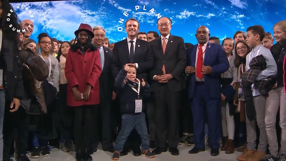 French President Emmanuel Macron launched the   One Planet Summit   in Paris to mark the second year anniversary of the Paris Agreement last December, providing a platform for multilateral partnerships.