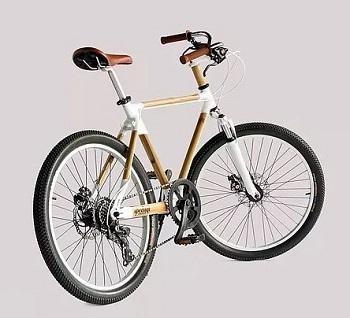 Kartono's Bamboo Bike has become a world famous icon. Courtesy Spedagi.