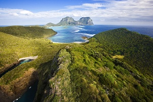 Lord Howe Island is pushing sustainability - and making a good living for its inhabitants. Courtesy Lord Howe.