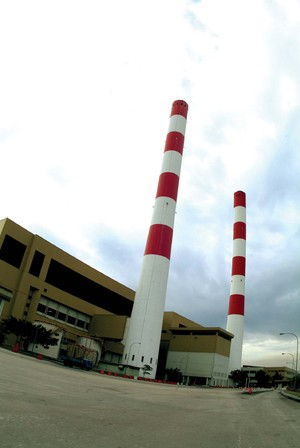 Smoke-free incinerator chimneys in Singapore.