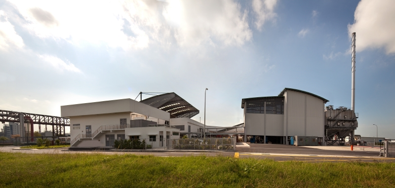 Sembcorp Woodchip Boiler Plant