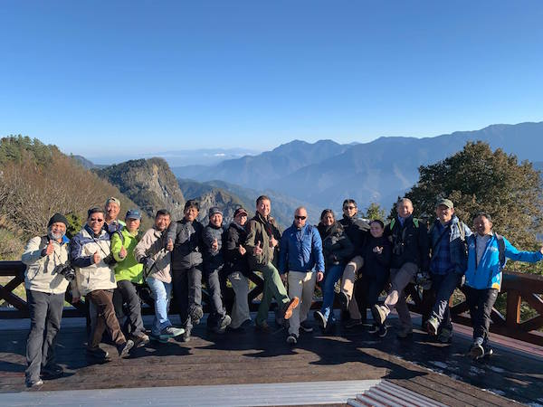 Members of the Asian Ecotourism Network and Taiwan Ecotourism Association inspected Alishan mountain tourism sights and indigenous villages as part of ecotourism standards technical visit.