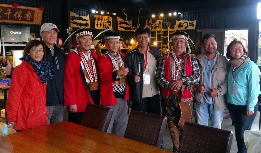 Members of the Asian Ecotourism Network or AEN mingled with the Tsou tribal leaders up in Alishan mountains of Taiwan to learn more about their culture and traditional ways.