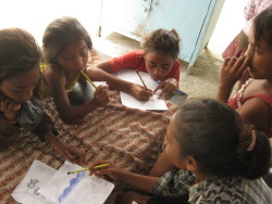 Timor children are always keen to learn new things