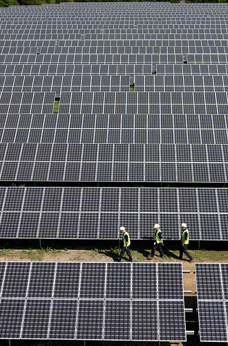 Toyota is pushing strongly for airport solar farms