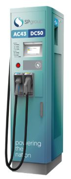 SP is to install 1,000 EV recharge points by 2020. Courtesy SP.