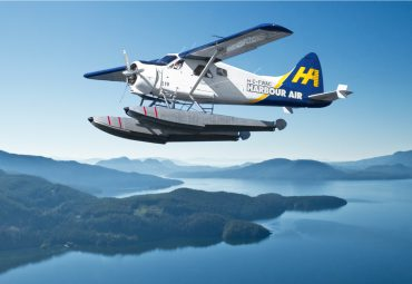 Harbour Air was the first zero-carbon airline in North America. Courtesy Harbour Air.