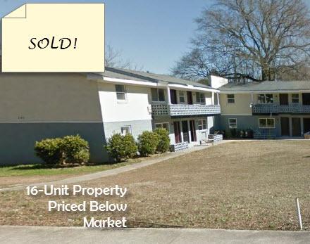 16-Unit Property Priced Below Market - 345 Lanier St SWAtlanta, GA 30318• Price:$545K• 5 year annual ROI 67.1% per year• Sixteen 2 bed/1 bath units• SELLER FINANCING