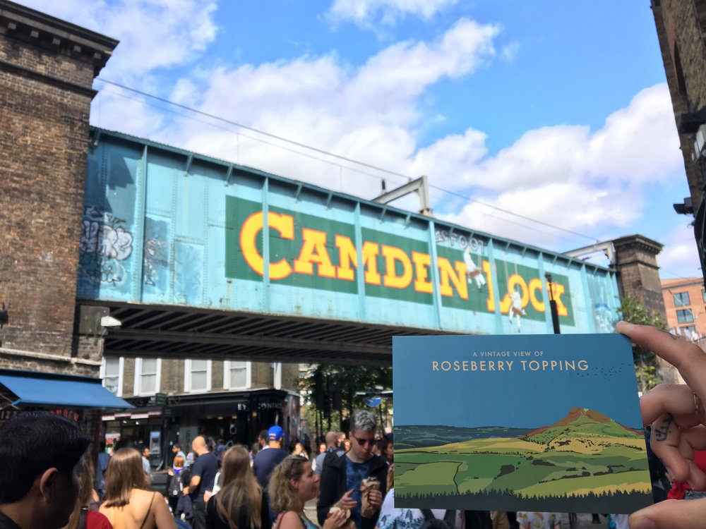 Camden London - Vintage Chartered Financial Planners - Artwork by Abby Taylor
