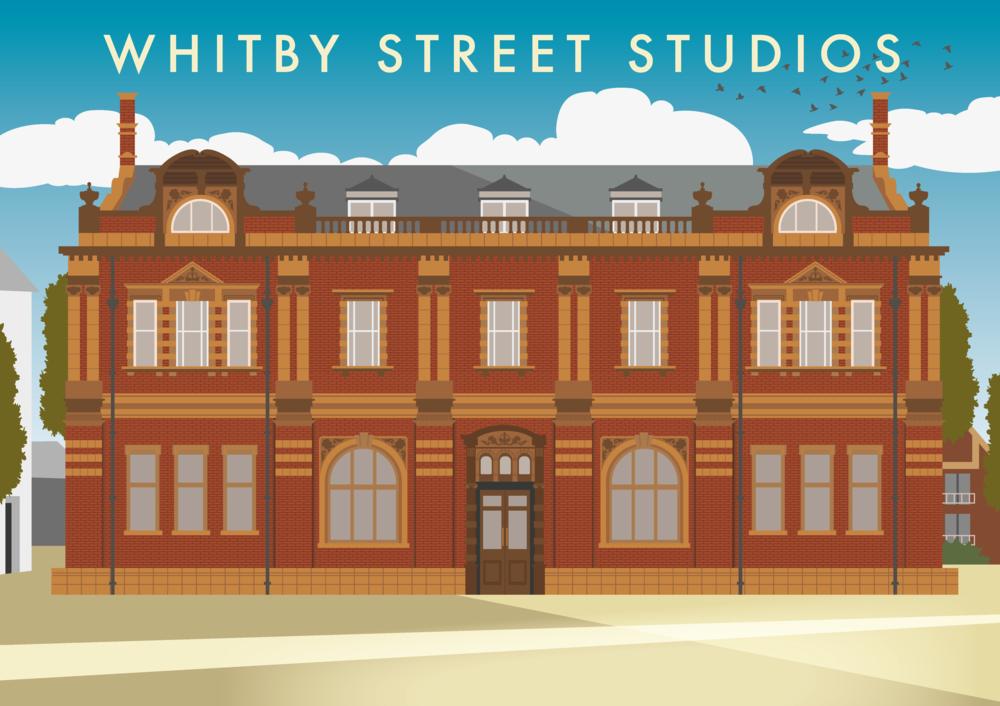 The Northern School of Art - Whitby Street Studios (Hartlepool) Illustration