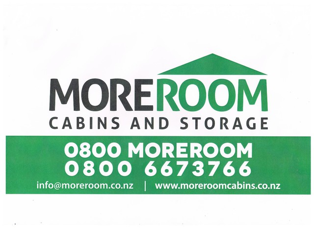 MOREROOM Cabins and Storage - If you are looking for a cabin or other type of storage to rent then this is the site for you Call: 0800 6673766 Mobile: 021 855 365http://www.moreroomcabins.co.nz/