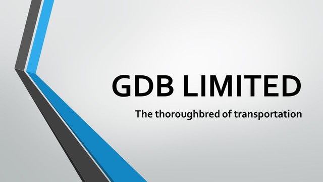 GDB Limited - For all your transportation needs, look no further than us. Call us on 021 740368 (Bevan) or 021 747 016 (Glenda).