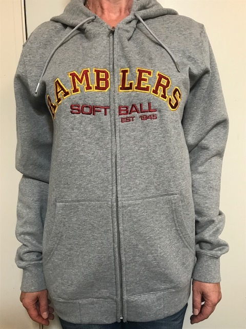 Hooded Sweatshirts zippedsizes - XXS-3XLfor ladies and men $70Available in Grey Maul only -