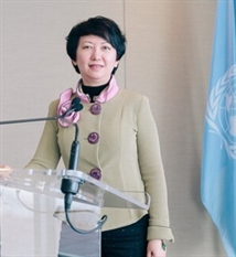 Christine Gong   Vice-chairman of International Council for Caring Communities
