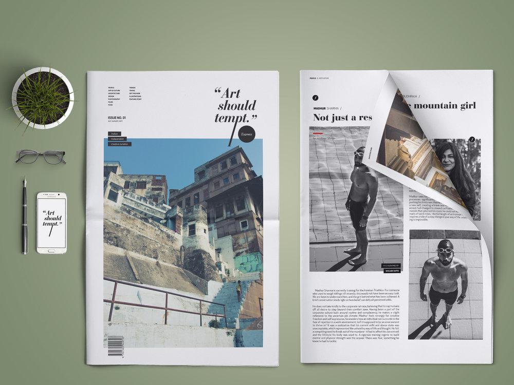 AST Express - Offline newspaper