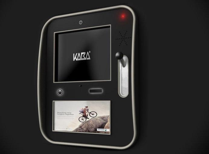 Kaba Geldautomaat design