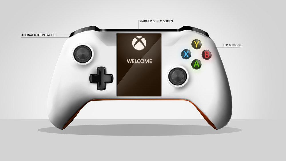Microsoft Xbox Controller Redesign
