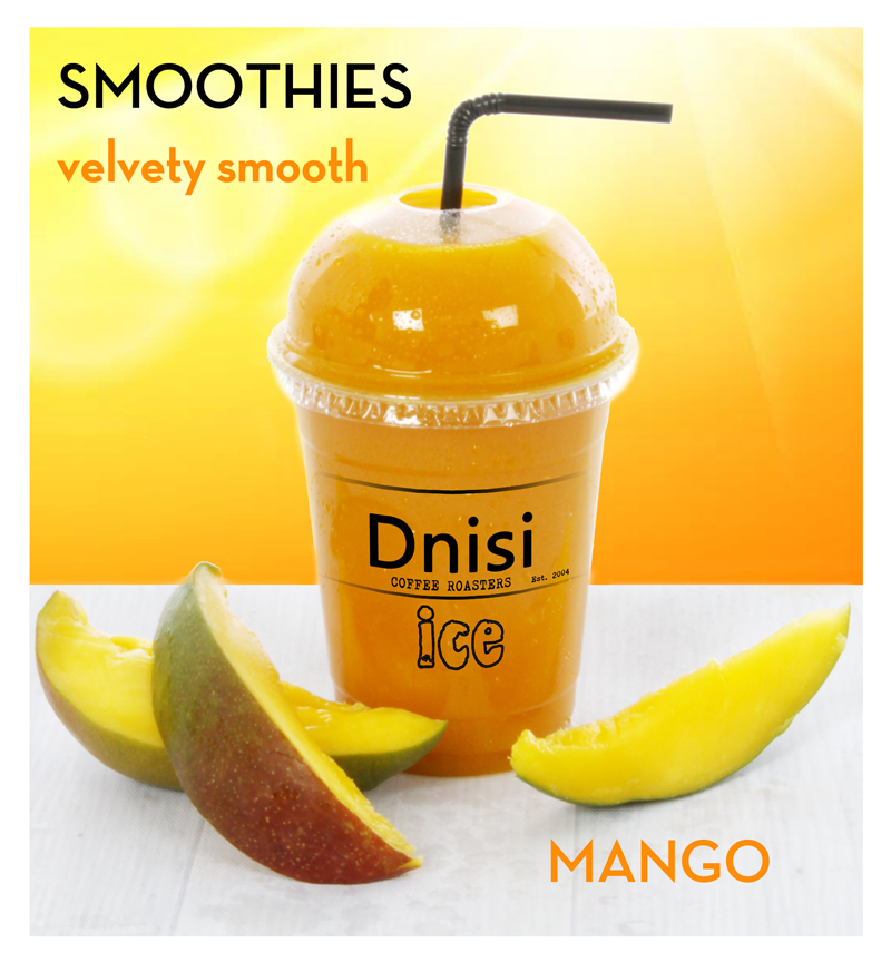 SMOOTHIES - Summer Fruit, Mango or Tutti-Fruitti