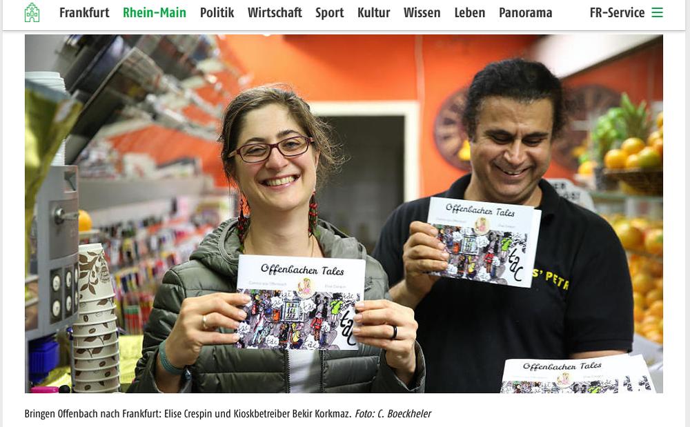 Frankfurter Rundschau press coverage