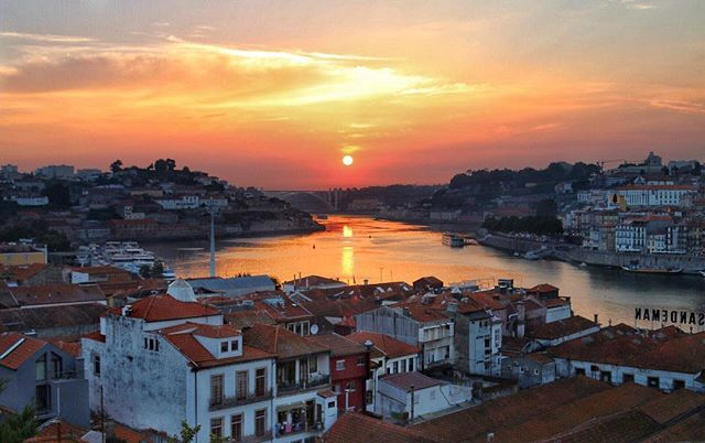 We arrived in Portugal today! Our first stop is Porto - such a beautiful city! Port tasting ✔️ Francesinha ✔️ Beautiful sunset ✔️ . . . #sunset #sunset_ig #inspiration #porto #portugal #igers #ig_portugal #river #porto_ig #beautiful #canon #canonportugal #sunsetporn #discover #adventure #nomad #travel #travellers #travelgram #travelphotography #photography #photographer #portugaltourism #tourism #traveltheworld #explore #cityscape #landscapephotography #city