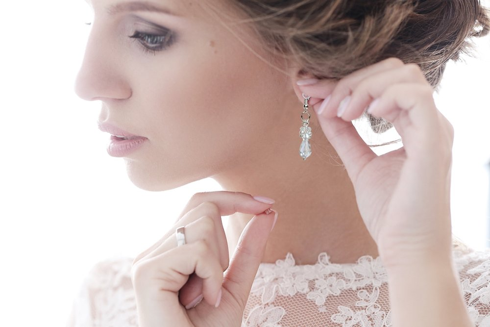 Unique bridal jewellery - To complete your look from top to toe.
