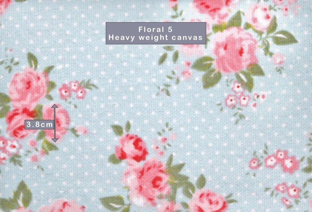 floral 5 pink roses on light blue background.jpg