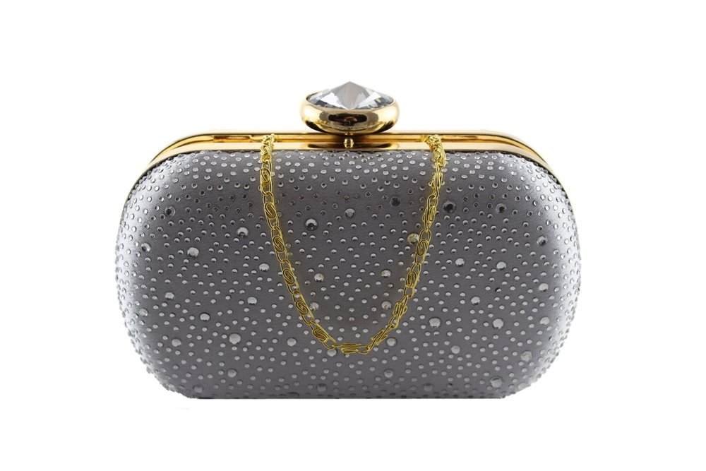 Silver sparkle clamshell clutch bag.jpg