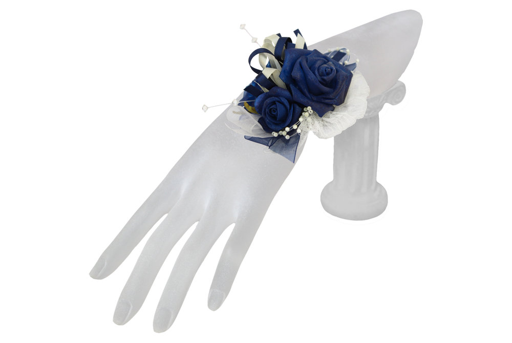 navy and cream rose keepsake corsage.jpg