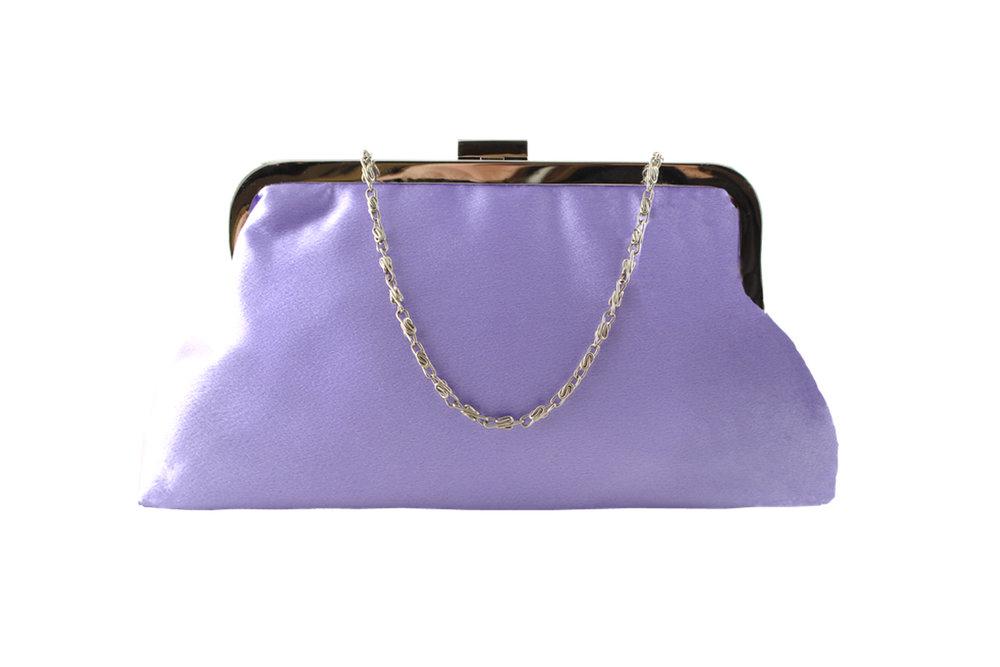 Lilac satin estelle soft clutch.jpg