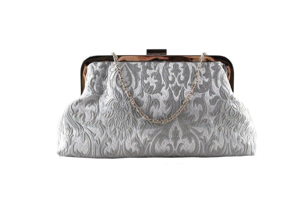 silver brocade soft clutch.jpg