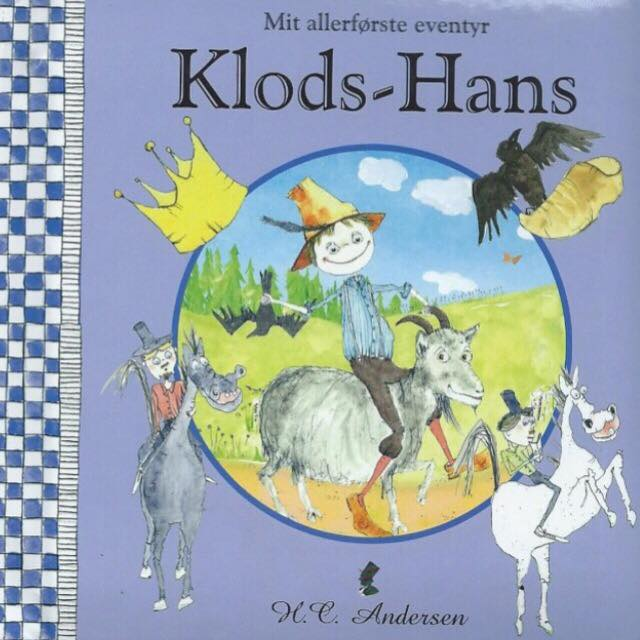 """""""Klods-Hans"""" - pegebog til de mindste, forlaget Globe"""