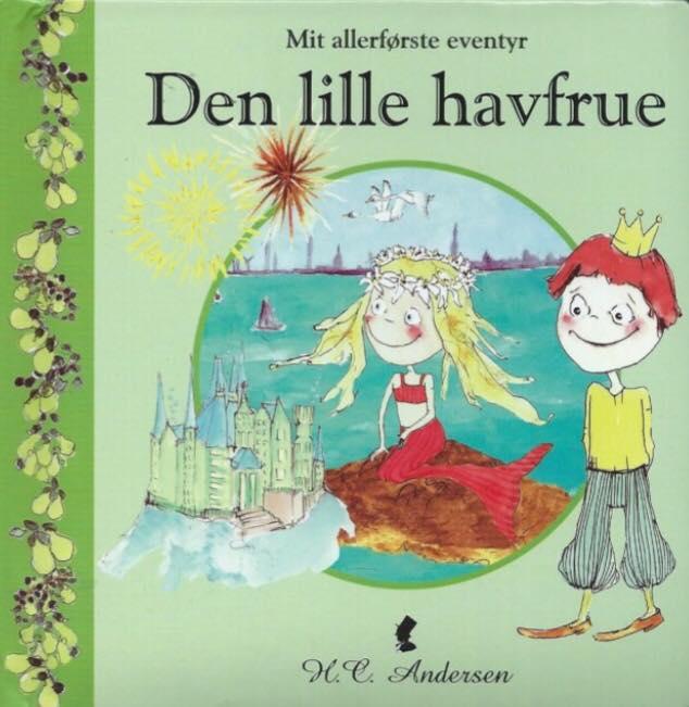 """""""Den lille Havfrue"""" - pegebog til de mindste, forlaget Globe"""