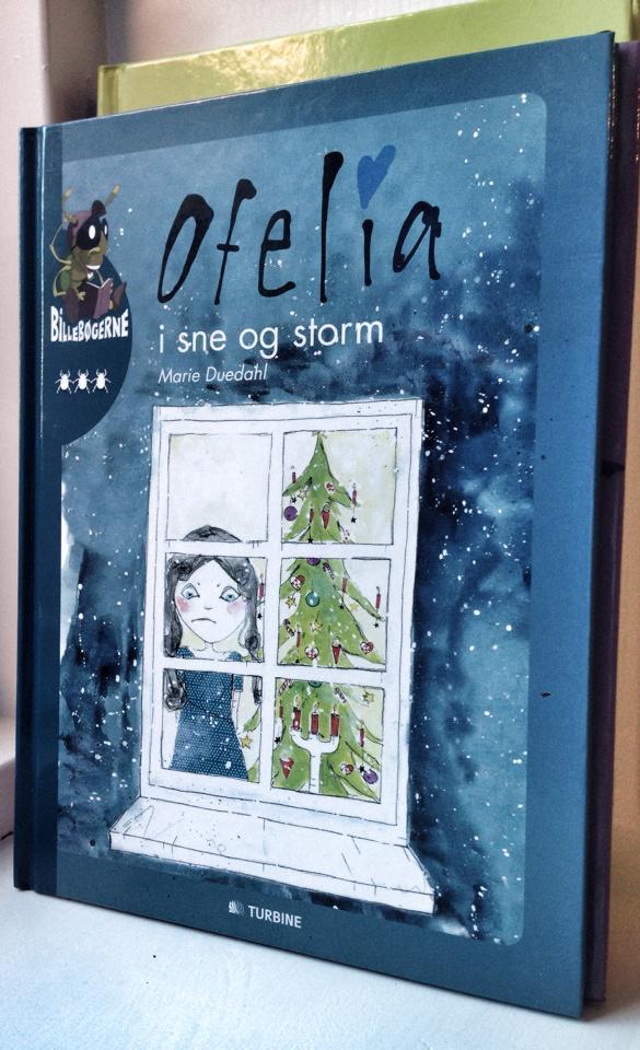 """Ofelia i sne og storm"", Turbine forlaget"