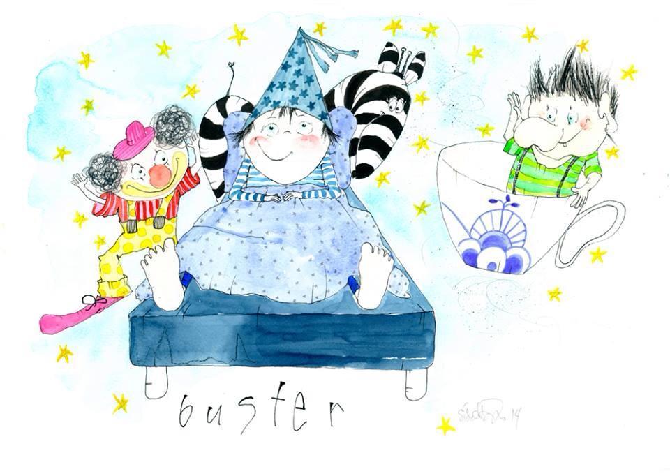 """""""Buster"""", original tegning"""